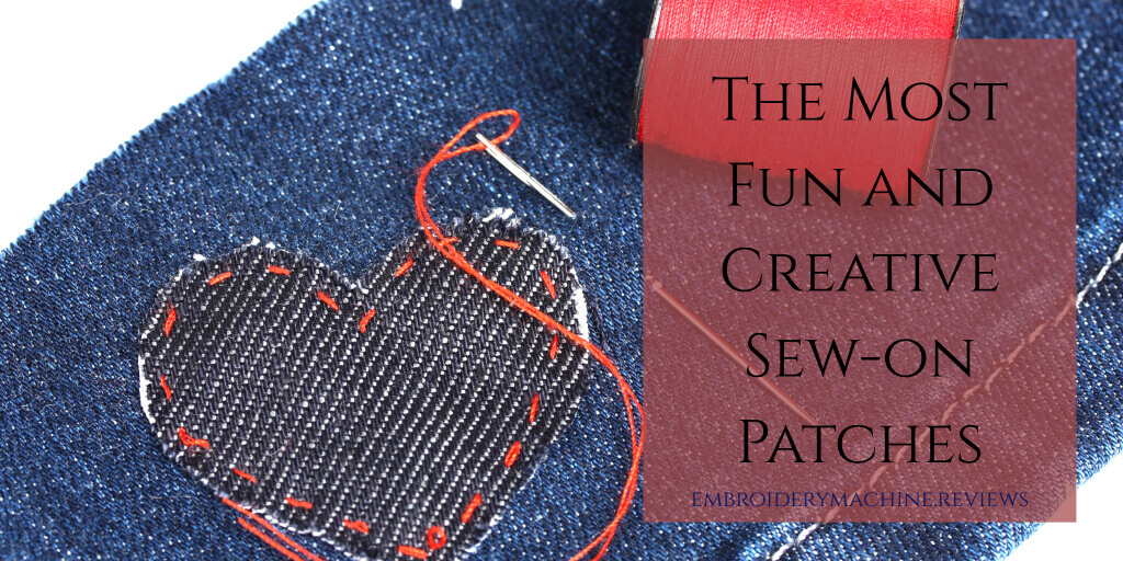best sew-on patches