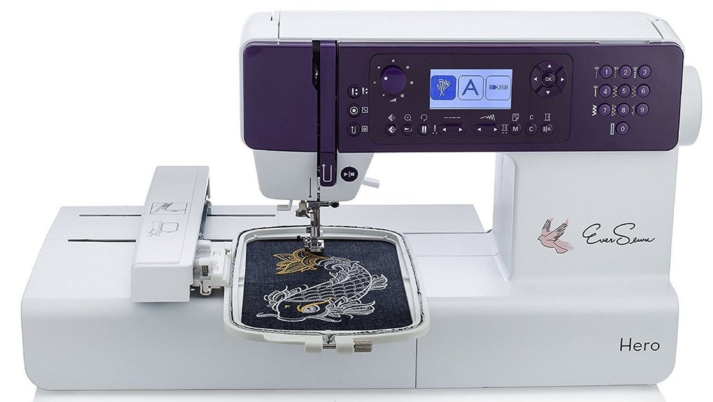 EverSewn Hero 400-Stitch Embroidery Machine Review