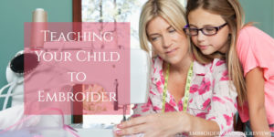 Introducing Kids to Embroidery (and the Best Books to Help)